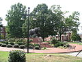 Livingstone College from Monroe St Salisbury NC - the bear.JPG