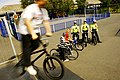 Local officers on patrol in a skate board park, Bloxwich (6147200949).jpg