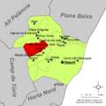 Localització d'Estivella respecte del Camp de Morvedre.png
