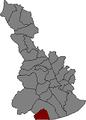 Localització de Castelldefels al Baix Llobregat.png