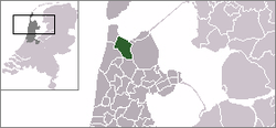 Location of Anna Paulowna