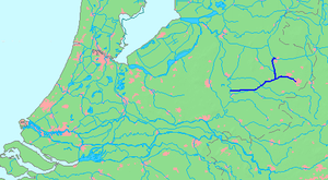 Twentekanaal - Location of Twentekanaal