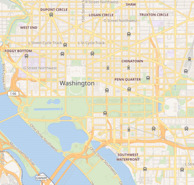 Templat:Location map United States Washington, D.C. central ...
