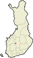 Location of Multia in Finland.png