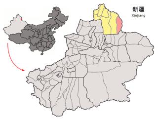 Qinggil County County in Xinjiang, Peoples Republic of China
