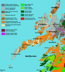 Lofoten Wikipedia - Norway map lofoten islands