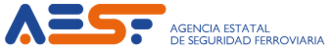 Railway Safety Agency - Image: Logo AESF