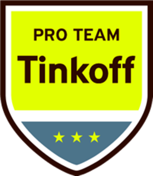 Tinkoff - Image: Logo Team Tinkoff