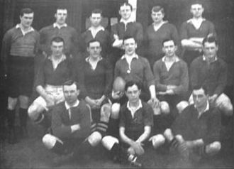 Lomas Athletic Club - The rugby team of 1913 that won its second title.