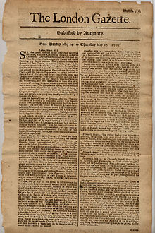 London Gazette(1705).jpg