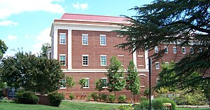 Longwood University - Buildings on Longwood's campus