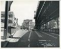 Looking north on Washington Street across railroad cut, June 1961.jpg