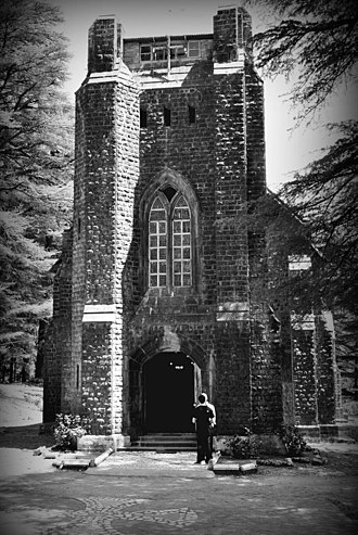 Dharamshala - Saint John's Church in The Wilderness at Dharamsala, built in 1852