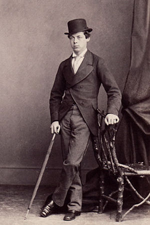 Lord Randolph Churchill - Churchill in the 1860s