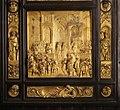 Lorenzo ghiberti, porta del paradiso, 1425-52, 10 salomone e la regina di saba.JPG