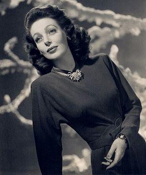 Loretta Young - Image: Loretta young studio portrait