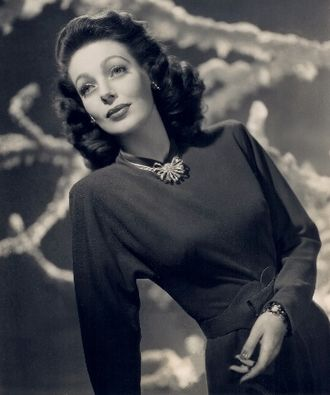 Loretta Young - Studio portrait of Young, 1940s