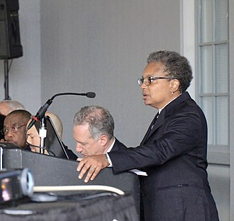 Lori Lightfoot - Lightfoot speaking at the release of the Chicago Police Accountability Task Force's report in 2016