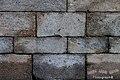Los bloques de sillería de la catedral compostelana - panoramio.jpg