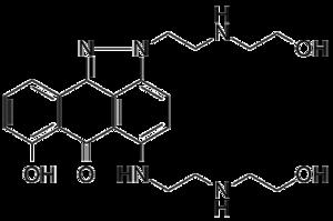 Losoxantrone - Image: Losoxantrone