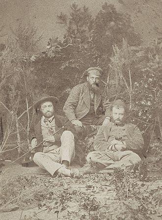 Louis Duchesne - Image: Louis Duchesne en civil, à gauche, en Turquie