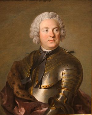 Carl Gustaf Tessin - Portrait of Count Tessin by Louis Tocqué, 1741