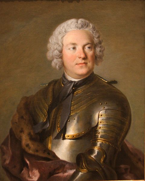 Portrait of Count Carl Gustaf Tessin by Louis Tocqué