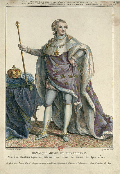 Louis XVI in Art 413px-Louis_XVI%2C_en_grand_costume_royal