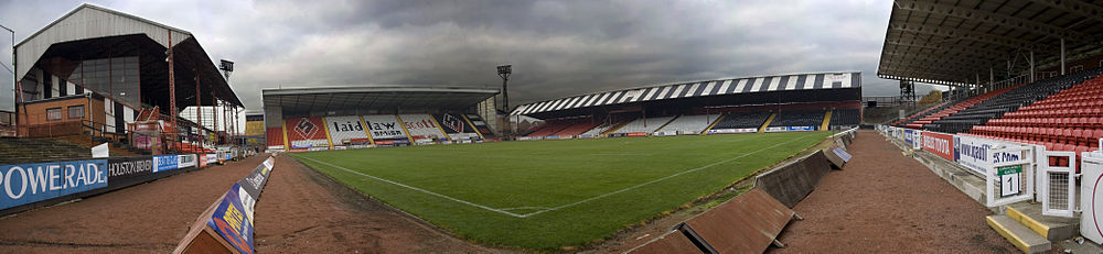 View from the old family end corner at Love Street