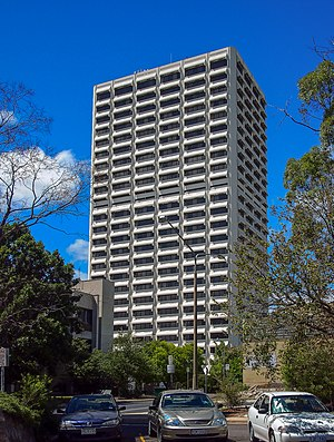 Lovett Tower - Image: Lovett Tower viewed from the North Feb 2013