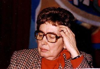 Monica Lovinescu - Lovinescu in 1994
