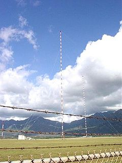 Lualualei VLF transmitter architectural structure