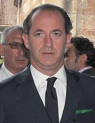 Luca Zaia - Image: Luca Zaia 2011