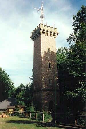 Ludwig Tower (Bad Kissingen) - The Ludwig Tower Staffelsberg in Bad Kissingen.