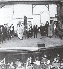 Pirandello al «Théâtre Edouard VII» per i Sei personaggi in cerca d'autore (Parigi, 1925)
