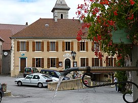 The town hall of Lus-la-Croix-Haute