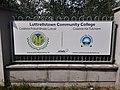 Luttrellstown Community College sign (2020).jpg