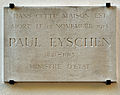 Luxembourg City Paul Eyschen Plaque pl Guillaume II.jpg