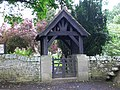 Lych Gate at St.Peters Church Newbrough - geograph.org.uk - 1439446.jpg