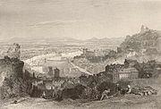 Depuis la Croix-Rousse (1869)