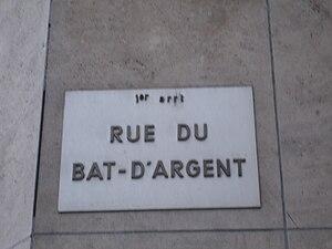 Rue du Bât-d'Argent - Image: Lyon Bât d'argent 9