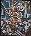 Lyubov popova, cubo-futurismo (uomo seduto), 1913.JPG