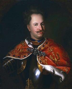 Treaty of Warsaw (1705) - Image: Mányoki Stanislaus Leszczyński