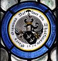 Münster Bessererkapelle Fenster 12-7 Wappen Georg Sigmund Besserer 1829.jpg