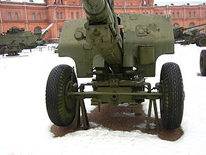 107 mm divisional gun M1940 (M-60) - Front view