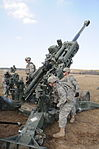 M777 Howitzer Live Fire Exercise (7023853793).jpg