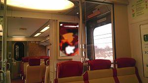 M8 (railcar) - Interior of a typical M8 car