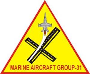 Marine Aircraft Group 31 - MAG-31 Insignia