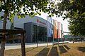 MBS Arena Potsdam mit Flaggen.jpg