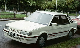 Austin Montego - More performance was offered in 1985 from a turbocharged Montego, badged as an MG